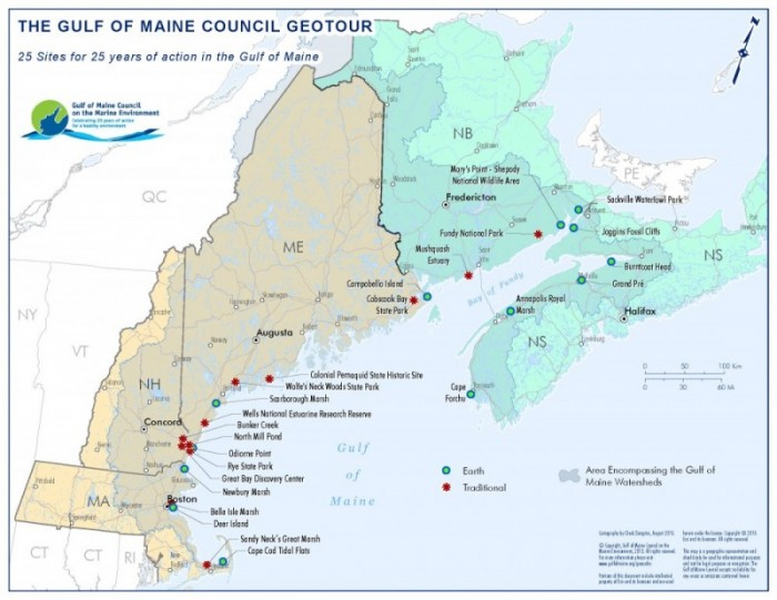 Gulf of Maine Council GeoTour | Gulf of Maine Council on the Marine ...