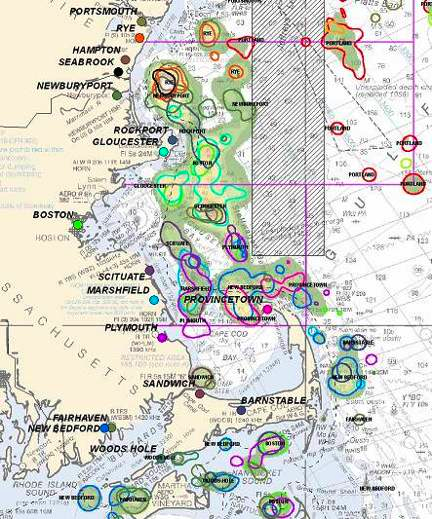 "Fisheries ""Atlas"" Project Identifies New England At-sea Fishing Communities"