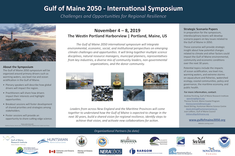 Gulf of Maine 2050 Poster