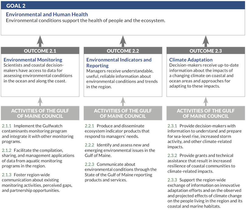 The Need for Regional Action: Goal 2 flow chart image
