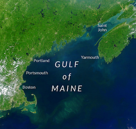 Gulf of Maine map image